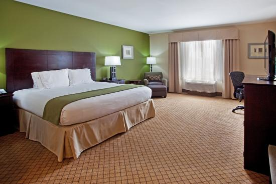 Holiday Inn Express Hotel & Suites Columbus - Fort Benning: Single King Bed Room Holiday Inn Express Columbus-Fort Benning