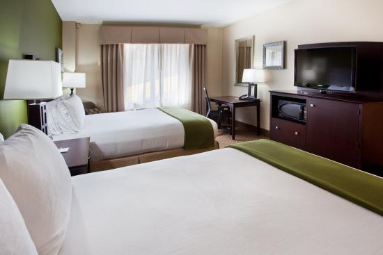 Holiday Inn Express Hotel & Suites Columbus - Fort Benning: Double Bed Room Holiday Inn Express Columbus-Fort Benning
