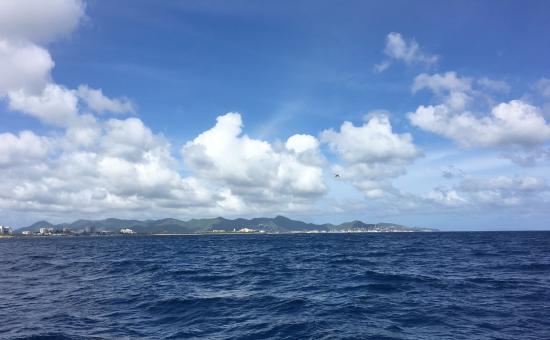 Baie de Simpson, Saint-Martin : Beautiful view of St. Maarten