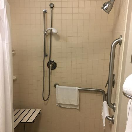 SpringHill has full access disability suites. Roll-in tubs too! My ...
