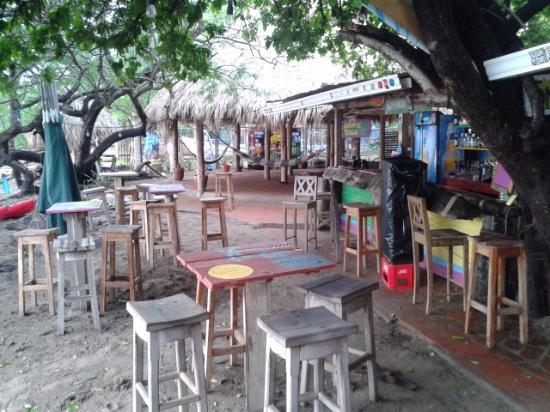 Gigante Bay: Restaurant