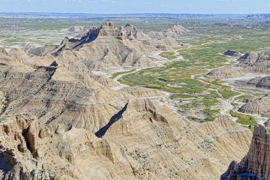 Parque Nacional Badlands, Dakota del Sur: View from Sheep Mountain Table.  This is the Badlands your parents never took you to.