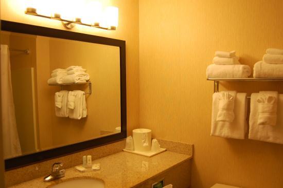 Holiday Inn Express Ludlow : Guest Bathroom