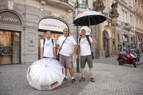 Silver Umbrellas