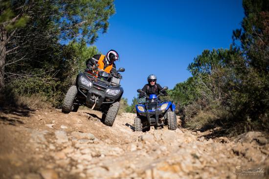 Argeliers, France : Randonnée Quad 2H Pilotage Access