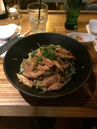 Okinawa: Salmon noodles