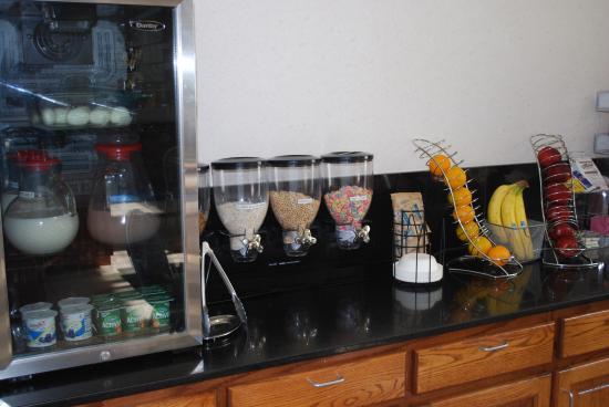 Best Western Fort Worth Inn & Suites: Breakfast Area