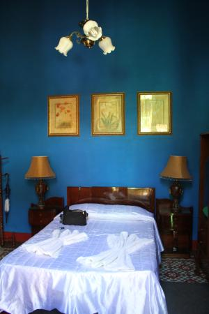 Unser Schlafzimmer... - Picture of Casa Hospedaje Colonial Los ...