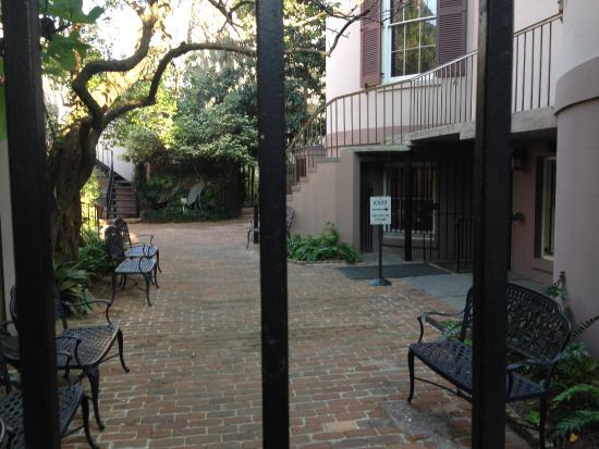 Girl Scout First Headquarters : First Headquarters Courtyard