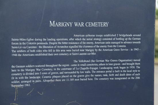 German War Cemetery Marigny