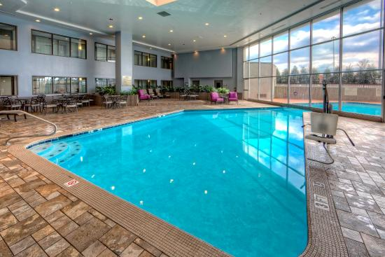 DoubleTree by Hilton Hotel Decatur Riverfront: Indoor Pool