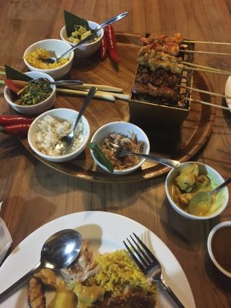 The Balinese Rijsttafel