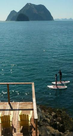 Orca Island Cabins: Paddle Boarding in Humpy Cove