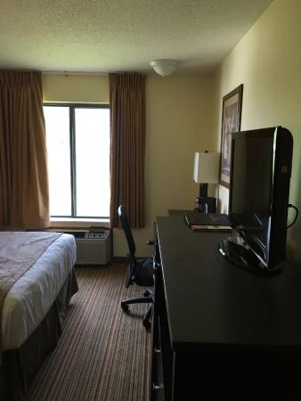 Ramada Wisconsin Dells: Standard Double Queen Room