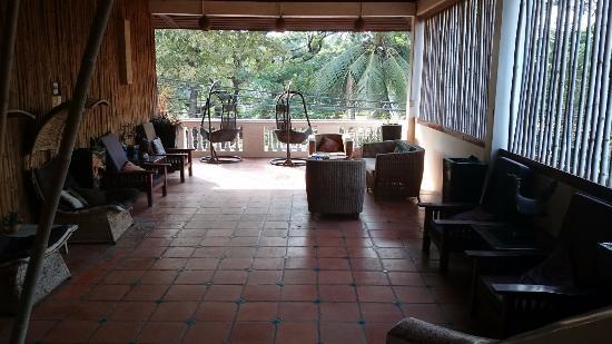 Rosy Guest House: Le patio du 2ème étage
