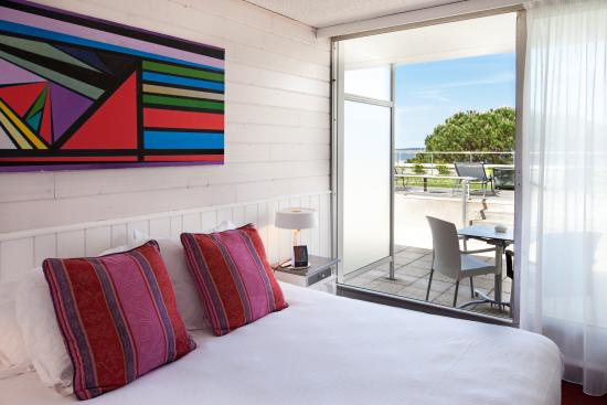 Sea View Classic Room Picture Of Hotel Point France Arcachon