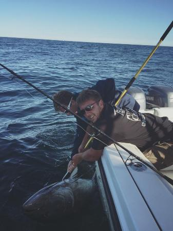 Tighten Up Charters CC: tuna fishing