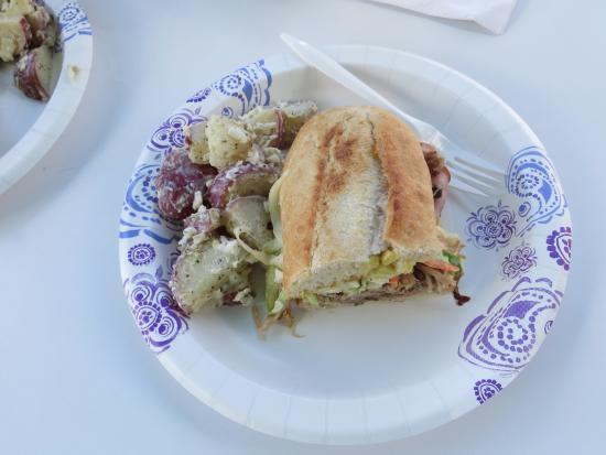 Bumpa's: My half of the sandwich