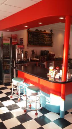 Woody Point, Kanada: Retro diner