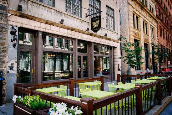 The 10 best restaurants near rainspa at the place d 39 armes for Aix cuisine du terroir montreal