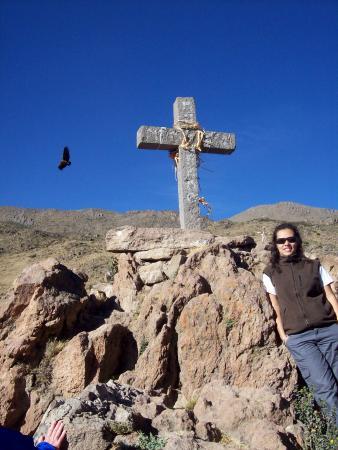 En la Cruz del Condor... con el Condor