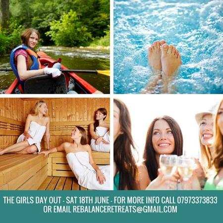 Lawrenny, UK: Book one of our girls days out