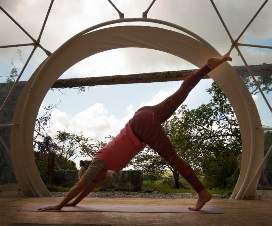 Lawrenny, UK: Try one of our wellness classes