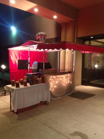 Racky's Catering York Road Hot Dog Cart