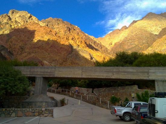 Termas de Fiambala: Aqui el estacionamiento