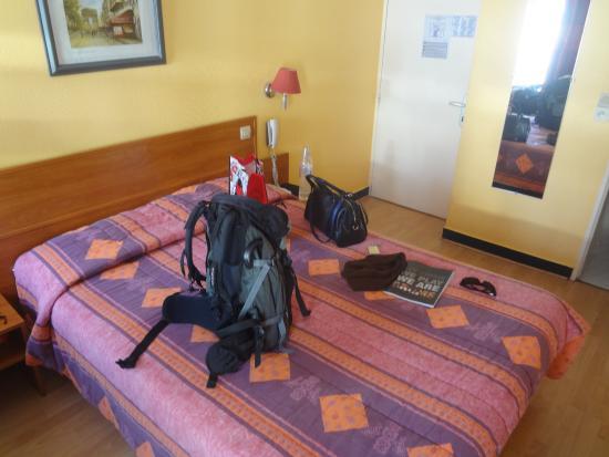 Hotel St. Georges Lafayette: Tamanho do quarto