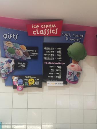 Baskin-Robbins Busan Seomyeon Lotte Store