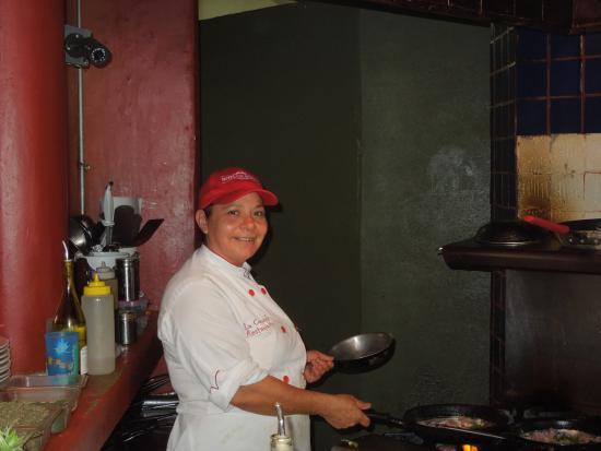Τόδος Σάντος, Μεξικό: Our wonderful chef!