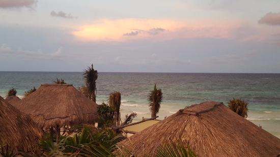 Suenos Tulum: View from our balcony (master suite)