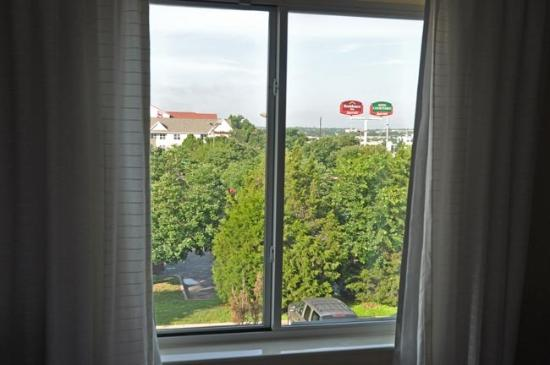 Fairfield Inn & Suites Austin South: Window of room on 3rd floor.