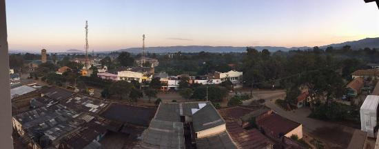 Machakos, Kenya: Early morning view from the 6th floor.