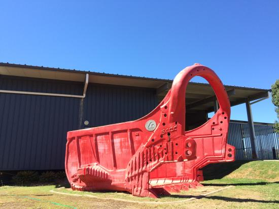 Blackwater International Coal Centre: Get up close with our Red Dragline Buckets