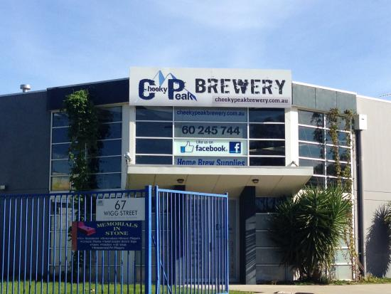 Cheeky Peak Brewery - Wodonga Vic