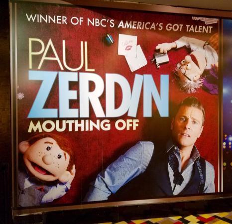 Paul Zerdin: Mouthing Off