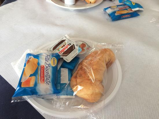Hotel Pensione Eden: La colazione ... SENZA CAFFÈ!!!!