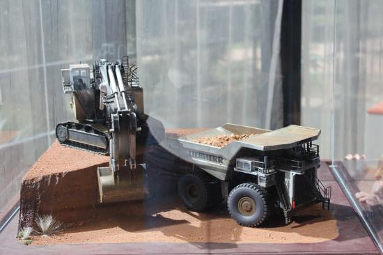 Blackwater International Coal Centre: Mini to scale mining displays