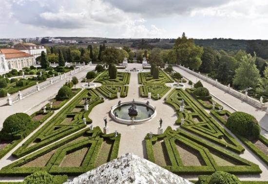 Il giardino all 39 italiana visto dal palazzo foto di - Giardino all italiana ...
