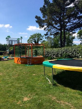 Camping Penhoat Côté Plage : Aire de jeux