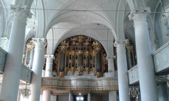 Holy Trinity Cathedral: il famoso organo