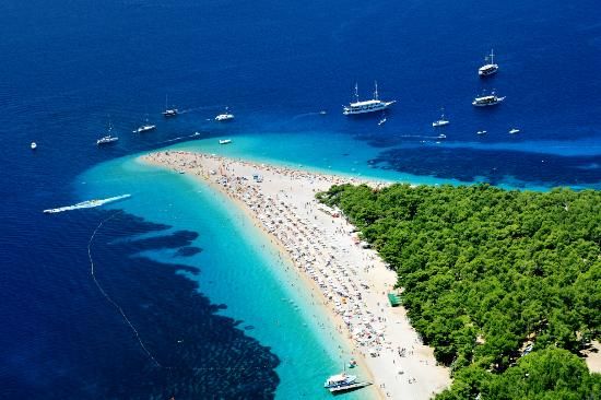 Croazia: Zlatni Rat Beach
