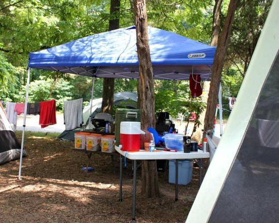 Williamsport, MD: Camp Setup
