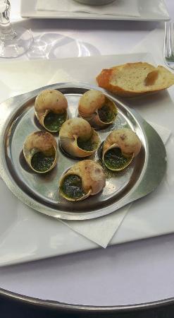 Au Baroudeur: Snails