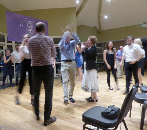 Mullaghbane, UK: A dance there on the Saturday night from local musicians (Liam's family)