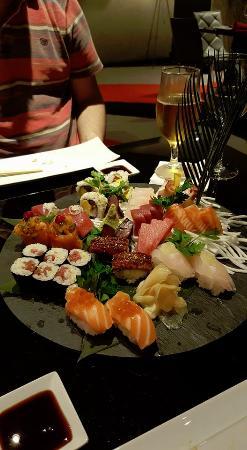 Kyodai Sushi Bar: our sharing platter.