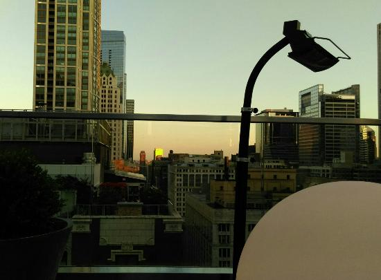 Cerise Rooftop: Sunset