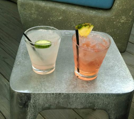 Cerise Rooftop: Cocktails